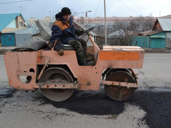В Тамбове приступили к ямочному ремонту дорог