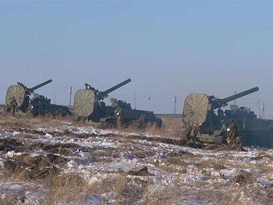 ВТамбовской области проводят стрельбы изсамых мощных минометов вмире «Тюльпан»