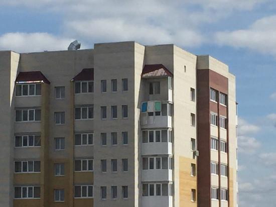 ВТамбове следователи проводят проверку пофакту падения балкона с16 этажа