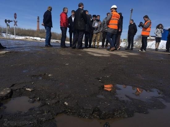 Инспекторы ОНФ остались недовольны дорогами Тамбова