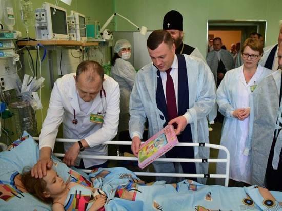 В Тамбове открылся детский хирургический корпус
