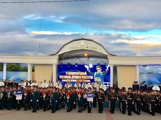В Тамбове отгремели звуки Международного фестиваля духовых оркестров