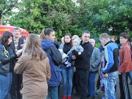 Жильцам двух подъездов дома в Моршанске, где произошел взрыв, разрешили вернуться в свои квартиры