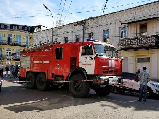В двухэтажном доме в Мичуринске рухнул потолок, жильцов эвакуировали