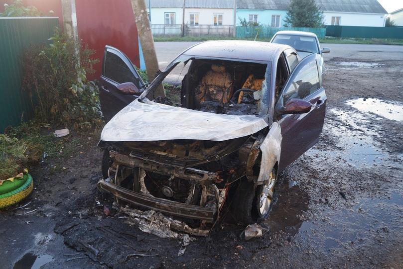 ВКирсановском районе мужчина разозлился назнакомую иподжег ееиномарку