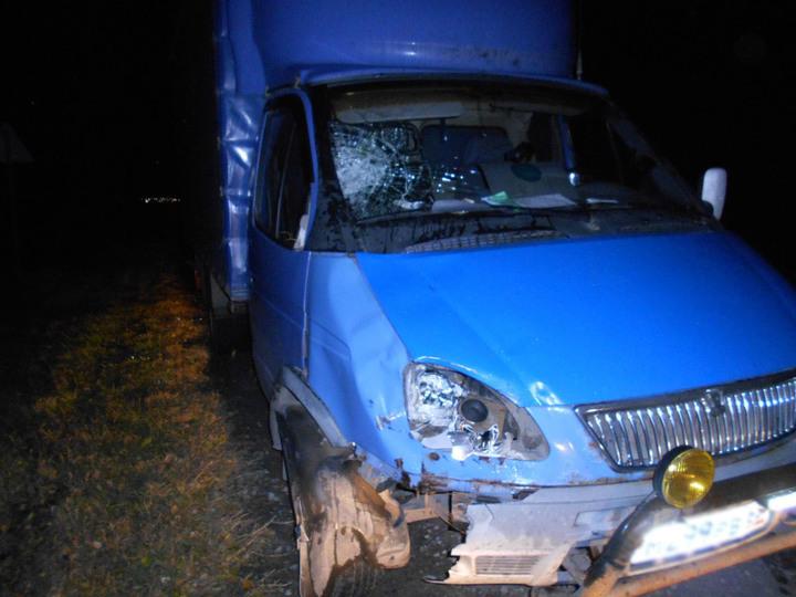 Грузовой автомобиль насмерть сбил 45-летнего мужчину натрассе