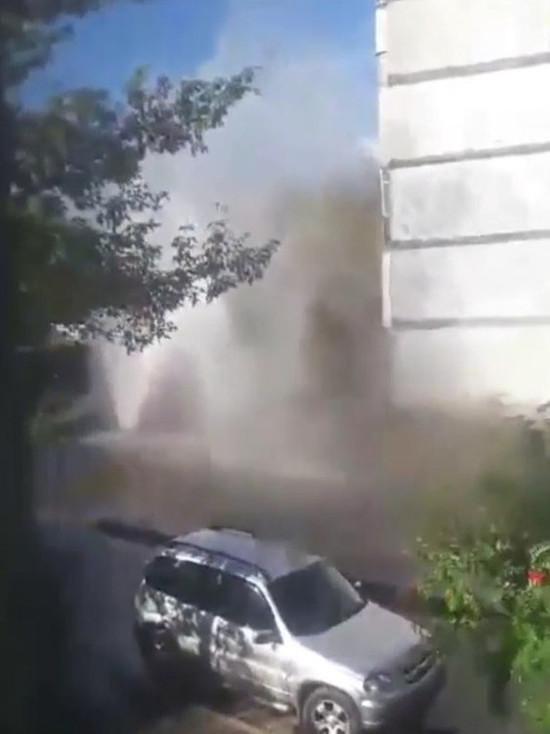 В Сети появилось видео тамбовского