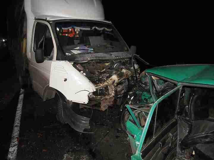 ВМичуринском районе вавтокатастрофе умер мужчина ичетверо пострадали