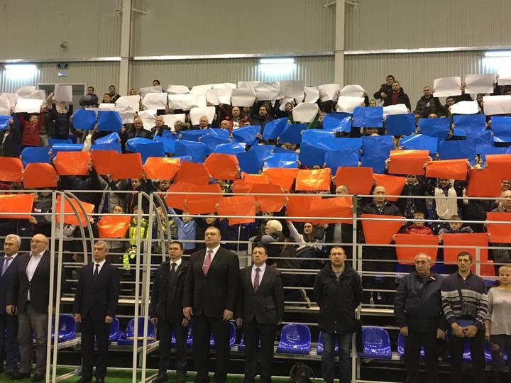 Центр единоборств за2,5 млрд руб. открыли вТамбове