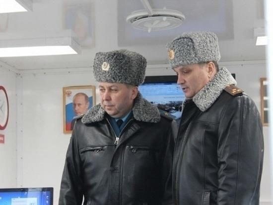 Тамбов с рабочим визитом посетил генерал-майор МЧС России Валерий Синьков