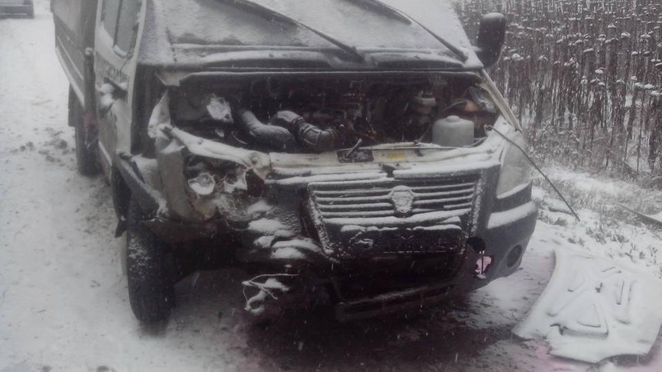 ВТамбовской области легковушка врезалась в фургон: есть погибшие