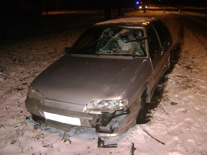 ВТамбове автомобиль сбил 2-х молодых людей