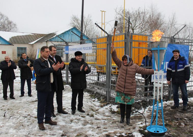 Граждане Сосновского района получили газ