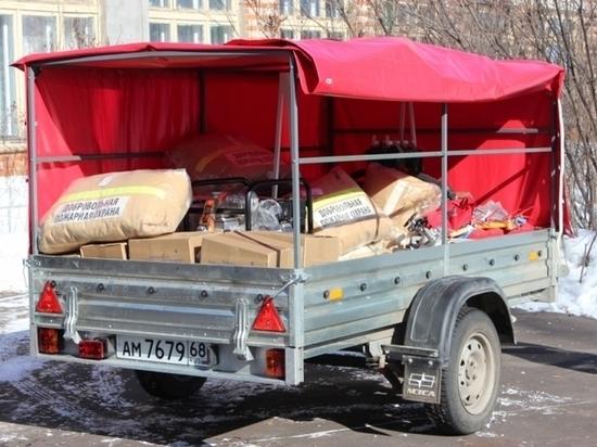 Музею-усадьба Рахманинова передали мобильный пожарный пост
