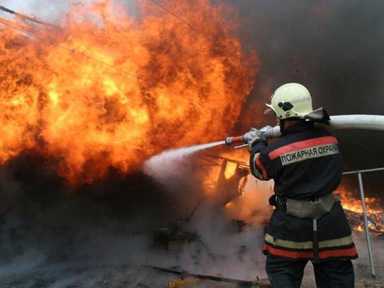 При пожаре в Моршанском районе погибли двое мужчин