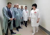 Заместитель полпреда в ЦФО посетил тамбовский перинатальный центр и Школу Сколково